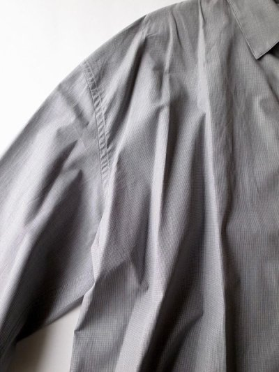 画像2: stein       OVERSIZED DOWN PATTERN SHIRT・HOUNDSTOOTH