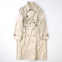 stein       DOUBLE SHADE TRENCH COAT・BEIGE