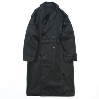 stein       DOUBLE SHADE TRENCH COAT・BLACK