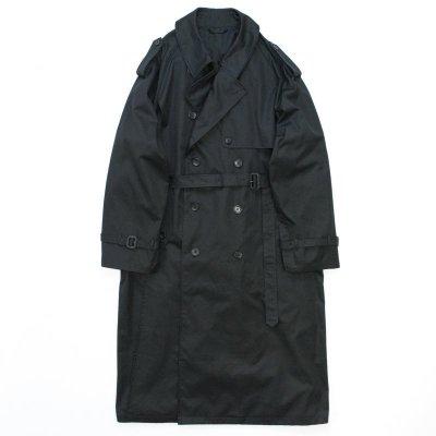 画像1: stein       DOUBLE SHADE TRENCH COAT・BLACK