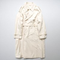 stein       DOUBLE SHADE TRENCH COAT・-minus