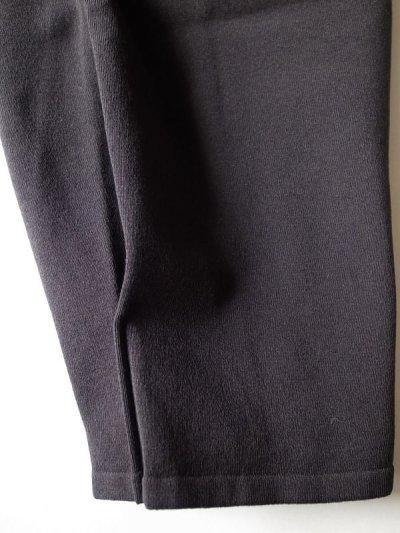 画像2: stein       SEPARATED KNIT TOP・BLACK