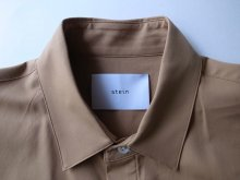 他の写真1: stein       FLY FRONT SLEEVE OVERSIZED SHIRT・CAMEL