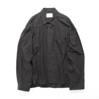 stein       OVER SLEEVE COMBINE SHIRT JACKET・BLACK