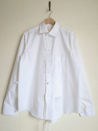 SOSHI OTSUKI       ソウシオオツキ ENDING CUTTERSHIRTS・WHITE