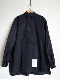 SOSHI OTSUKI       ソウシオオツキ ENDING PULLOVERSHIRTS・linen BLACK