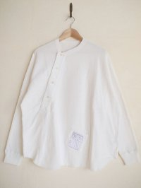 SOSHI OTSUKI       ソウシオオツキ KIMONO BREASTED THERMAL・WHITE