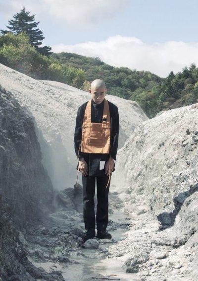 画像2: SOSHI OTSUKI       ソウシオオツキ KESA CHEST・MUSTARD
