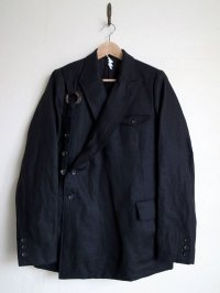 SOSHI OTSUKI       ソウシオオツキ KESA BREASTED SUITS LINEN
