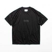 stein       PRINT TEE - TYPOGRAPHY -・BLACK