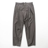 stein       WIDE TAPERED TROUSERS_B・CONCRETE