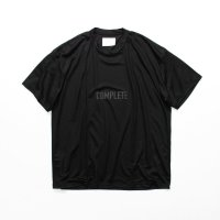 stein       PRINT TEE - COMPLETE&INCOMPLETE-・BLACK
