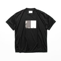 stein       PRINT TEE - TO COMPLETE -・BLACK