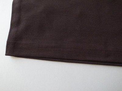 画像2: stein       PRINT TEE - COMPLETE&INCOMPLETE-・DARK BROWN