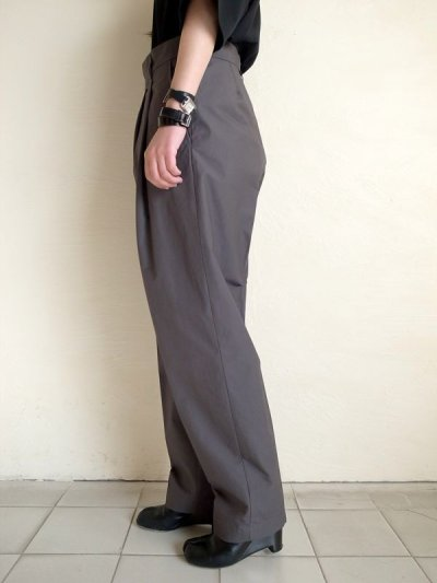 画像2: stein       WIDE TAPERED TROUSERS_B・CONCRETE