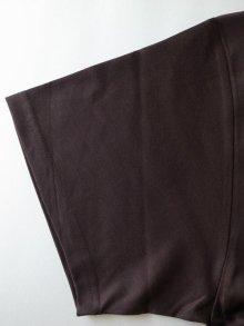 他の写真3: stein       PRINT TEE - COMPLETE&INCOMPLETE-・DARK BROWN