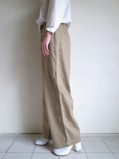 画像2: brassband       EURO WORK CHINO PANTS・ベージュ