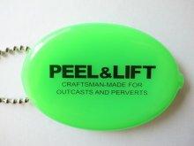他の写真2: PEEL&LIFT         vinyl coin holder ロゴ入りコインケース・ネオングリーン