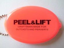 他の写真2: PEEL&LIFT         vinyl coin holder ロゴ入りコインケース・ネオンピンク