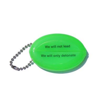 画像2: PEEL&LIFT         vinyl coin holder ロゴ入りコインケース・ネオングリーン