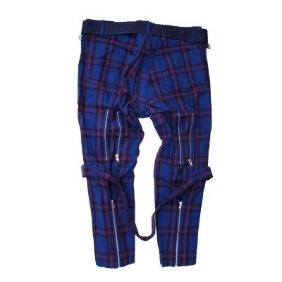 画像2: PEEL&LIFT        bondage trousers modern with kilt キルト付きボンテージトラウザース・エリオットタータン