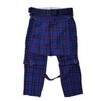 PEEL&LIFT        bondage trousers modern with kilt キルト付きボンテージトラウザース・エリオットタータン