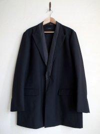 black means  オーバーサイズ切り替えジャケット