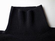 """他の写真2: sulvam       サルバム """"high neck by color knit""""バイカラーハイネックニット"""