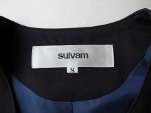 """他の写真2: sulvam       サルバム """"gabardine slim vest""""アシンメトリーベスト"""