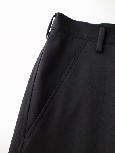 """画像2: sulvam       サルバム """"gabardine classic slim pants""""スリムスリットパンツ"""