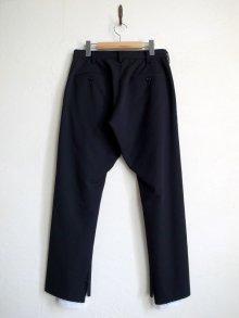 """他の写真1: sulvam       サルバム """"gabardine classic slim pants""""スリムスリットパンツ"""