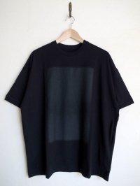 Dulcamara      ドットグラデーションBig Tシャツ・ブラック