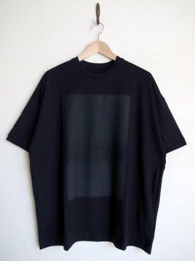 画像1: Dulcamara      ドットグラデーションBig Tシャツ・ブラック