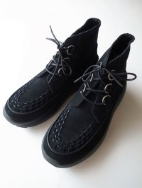 black means  ×SUVSOLE ブローセルクリーパーズハイカット4th color