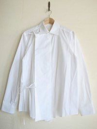 SOSHI OTSUKI       ソウシオオツキ HANGING EVENING SHIRTS・WHITE