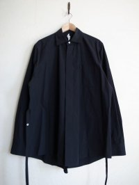 SOSHI OTSUKI       ソウシオオツキ KIMONO BREASTED SHIRTS・BLACK