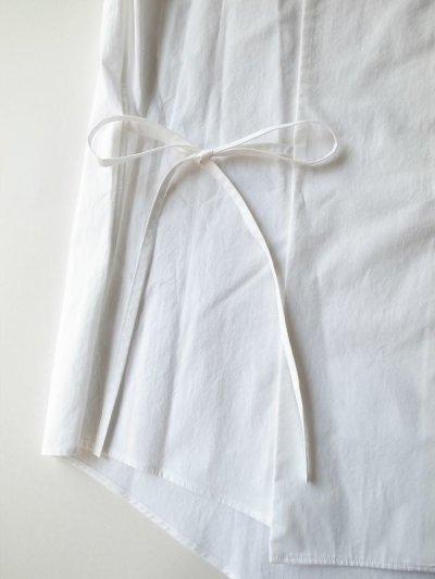 画像2: SOSHI OTSUKI       ソウシオオツキ HANGING EVENING SHIRTS・WHITE