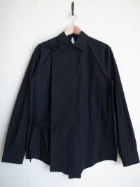 SOSHI OTSUKI       ソウシオオツキ HANGING EVENING SHIRTS・BLACK