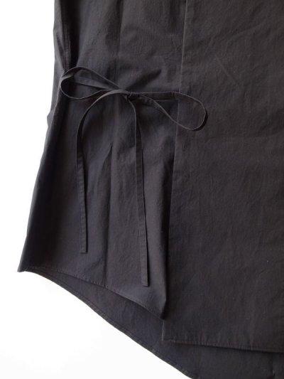 画像2: SOSHI OTSUKI       ソウシオオツキ HANGING EVENING SHIRTS・BLACK