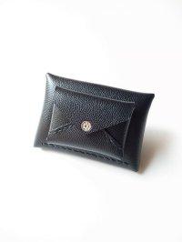 ebagos  エバゴス  型押しキップレザーWフウトウ型財布