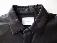他の写真1: stein       OVERSIZED PULL OVER SHIRT・LEATHER