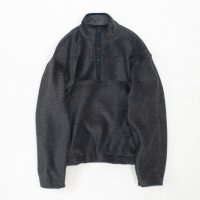 stein       OVERSIZED FLEECE TOP・CHARCOAL