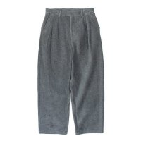 stein       EXTRA WIDE FLEECE TROUSERS・CHARCOAL