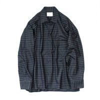 stein       OVERSIZED DOWN PATTERN SHIRT・GINGHAM CHECK