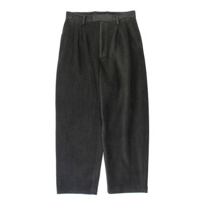 画像1: stein       EXTRA WIDE FLEECE TROUSERS・BLACK