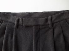 他の写真1: stein       EXTRA WIDE FLEECE TROUSERS・BLACK