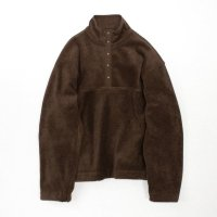 stein       OVERSIZED FLEECE TOP・BROWN