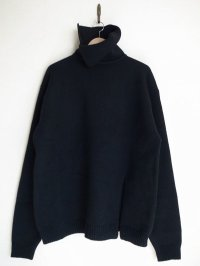 SOSHI OTSUKI       ソウシオオツキ SWORD SLIT KNIT・BLACK