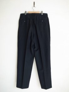 他の写真1: SOSHI OTSUKI       ソウシオオツキ SIDE STRIPE WIDE TROUSERS・BLACK×STRIPE