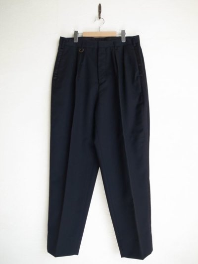 画像1: SOSHI OTSUKI       ソウシオオツキ SIDE STRIPE WIDE TROUSERS・BLACK